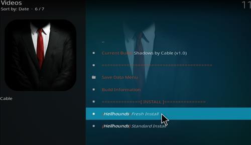 How to Install Shadows Kodi Build with Screenshots step 23