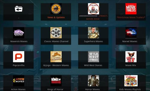 How to Install Strikes Movie Zone Kodi Add-on with Screenshots pic 2
