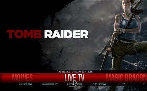How to Install Tomb Raider Kodi 18 Build Leia pic 1
