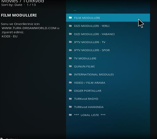 How to Install Turkvod Add-on for Kodi 18 Leia pic 2
