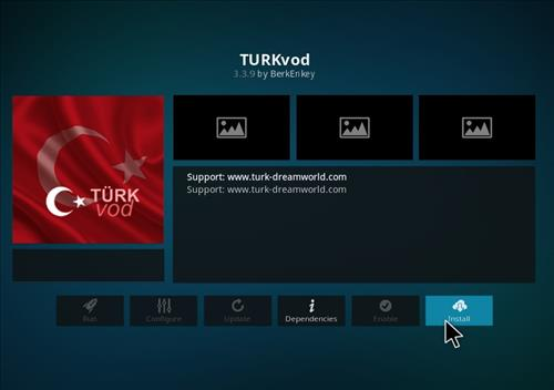How to Install Turkvod Add-on for Kodi 18 Leia step 19