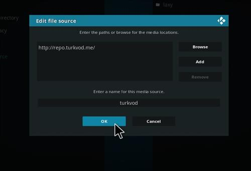 How to Install Turkvod Add-on for Kodi 18 Leia step 7
