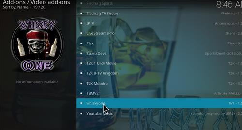 How to Install Whiskyone Kodi Add-on with Screenshots step 17