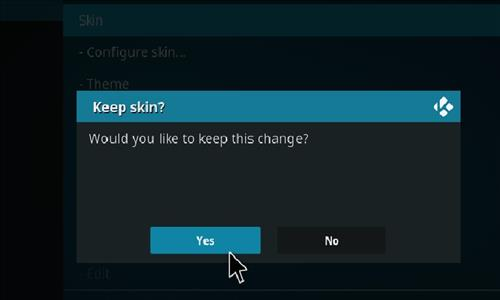 How to change the Skin back to Default Estuary bit of apple lounge step 5