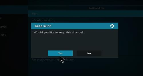 How to change the Skin back to Default Estuary shdows step 5