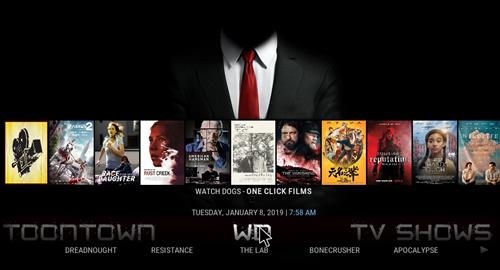 Top Best Working KODI Build List Shadows