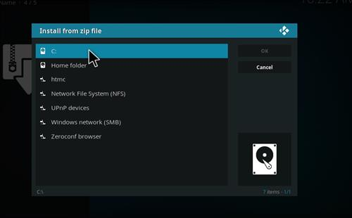 manual and download htmc repo step 4