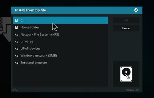 manual and download ring repo step 4