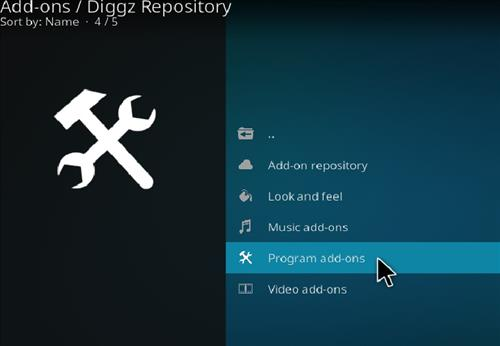 How to Install Diggz XenoX Kodi 18 Leia Build step 17