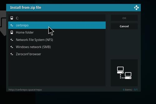 How to Install Ghost Add-on for Kodi 18 Leia step 11