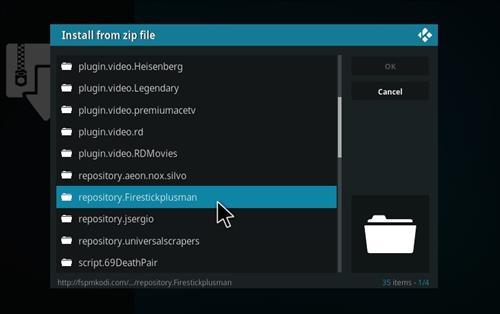 How to Install Heisenberg Kodi 18 Leia Add-on step 12