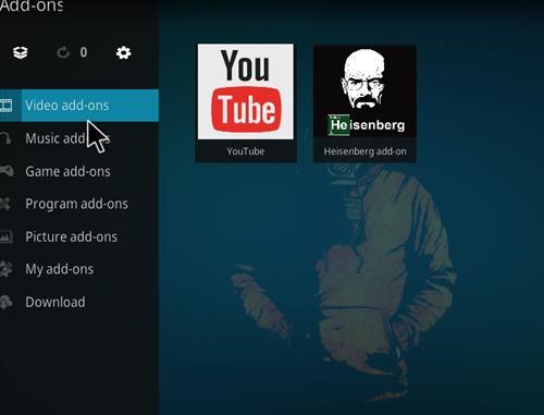 How to Install Heisenberg Kodi 18 Leia Add-on step 22