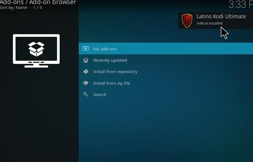 How to Install Latino Kodi Build 18 Leia step 13