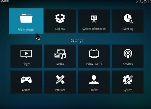 How to Install MC 1080P Kodi18 Leia Add-on step 2