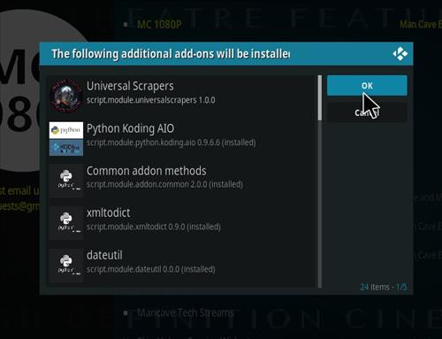 How to Install MC 1080P Kodi18 Leia Add-on step 20