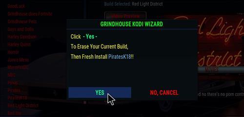 How to Install PiratesK18 Kodi Leia Build step 25