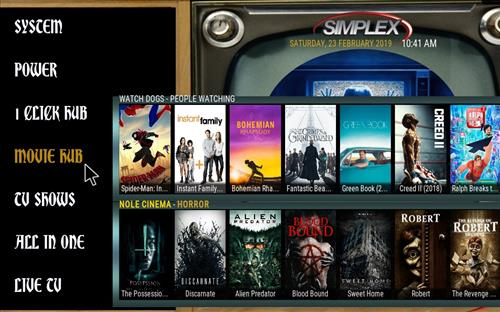 How to Install Simplex Kodi Build 18 Leia pic 1