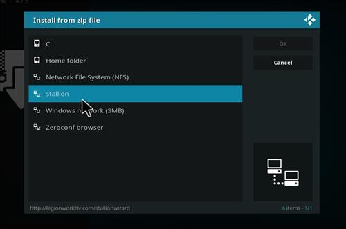 How to Install Stallion IPTV Add-on Kodi 18 Leia step 11