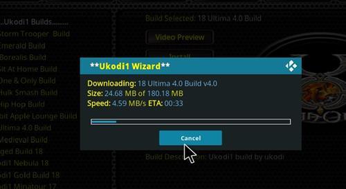 How to Install Ultima 4.0 Kodi Build 18 Leia step 28