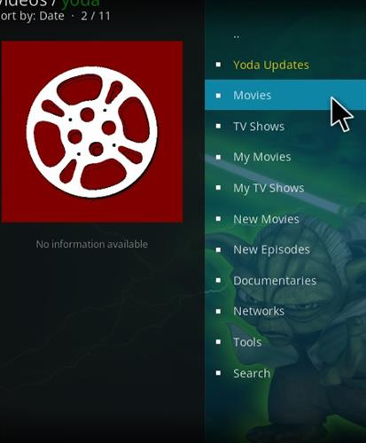 How to Install Yoda Add-on for Kodi 18 Leia pic 2