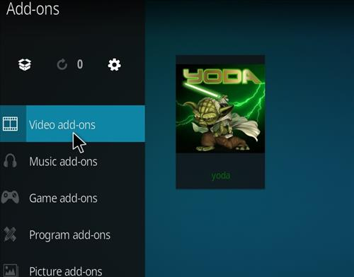 How to Install Yoda Add-on for Kodi 18 Leia step 21