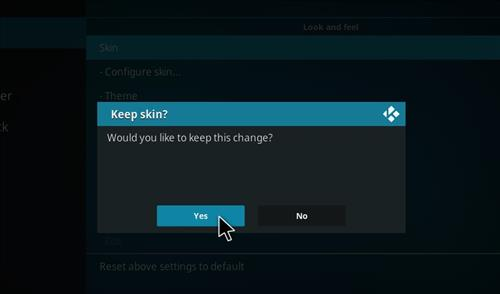 How to change the Skin back to Default Estuary ultima step 5