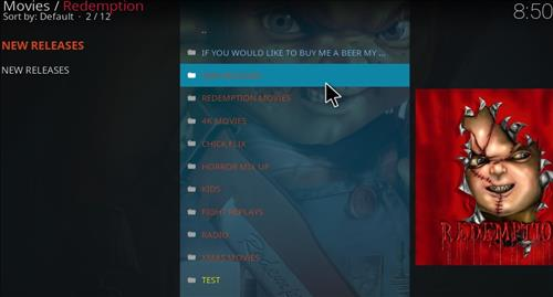 How to install Redemption Add-on for Kodi 18 Leia pic 2