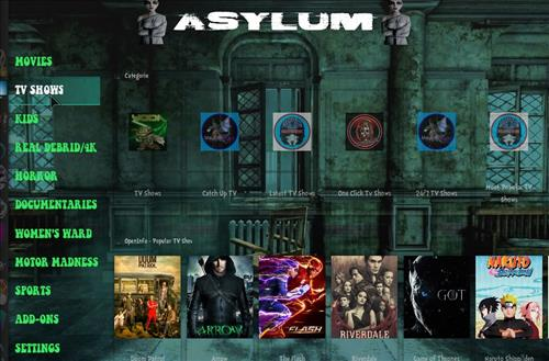 How to Install Asylum Kodi 18 Build Leia pic 2