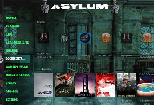 How to Install Asylum Kodi 18 Build Leia pic 3