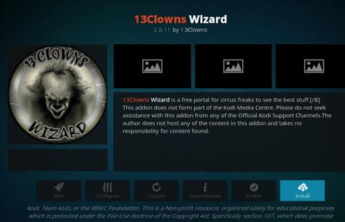 How to Install Clown _Aura Kodi 18.1 Build Leia step 18