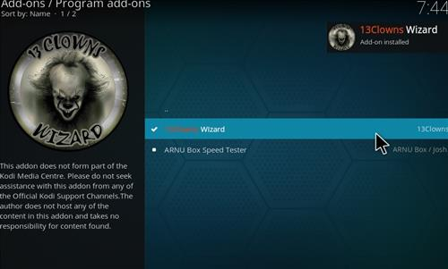 How to Install Clown _Aura Kodi 18.1 Build Leia step 19