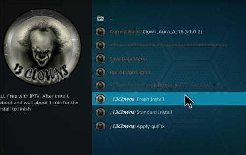 How to Install Clown _Aura Kodi 18.1 Build Leia step 24