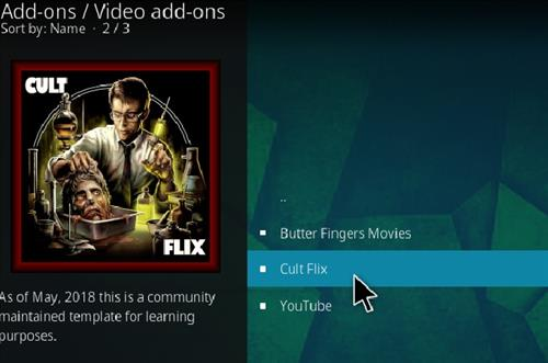 How to Install Cult Flix Kodi 18 Leia Add-on step 17
