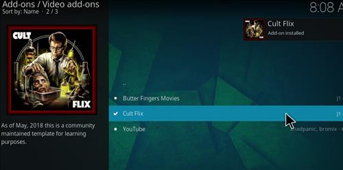 How to Install Cult Flix Kodi 18 Leia Add-on step 20