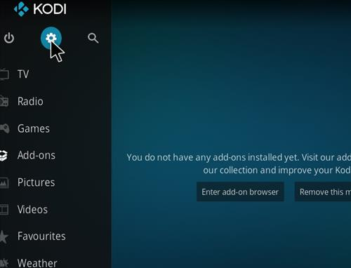 How to Install Death from Above Kodi 18 Leia Add-on step 1