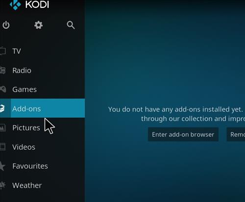 How to Install Guillermo Tell Kodi 18 Leia Add-on step 8