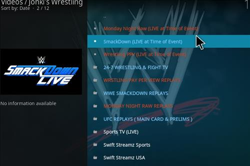 How to Install Johkis Wrestling Kodi 18 Leia Add-on pic 2