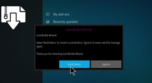 How to Install Mammoth Kodi 18 Build Leia step 15