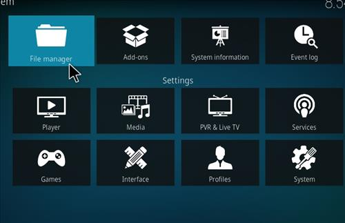 How to Install Mammoth Kodi 18 Build Leia step 2