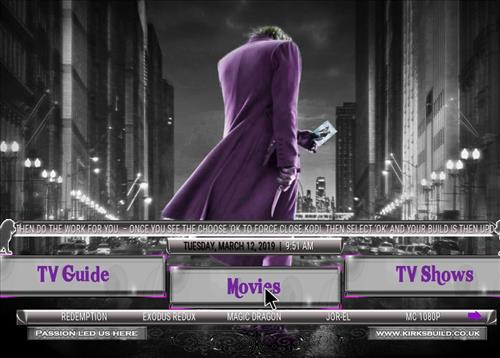How to Install Passion Led us Here Kodi 18 Build Leia pic 1