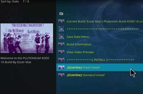 How to Install Plutonium Kodi Build 18.1 Leia step 24