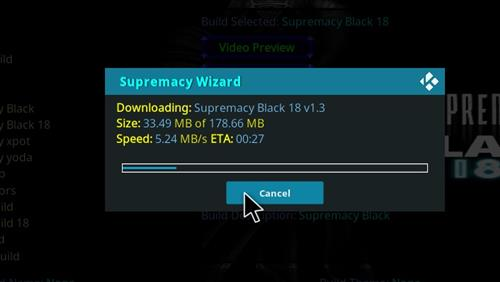How to Install Supremacy Black 18 Kodi Build Leia step 26