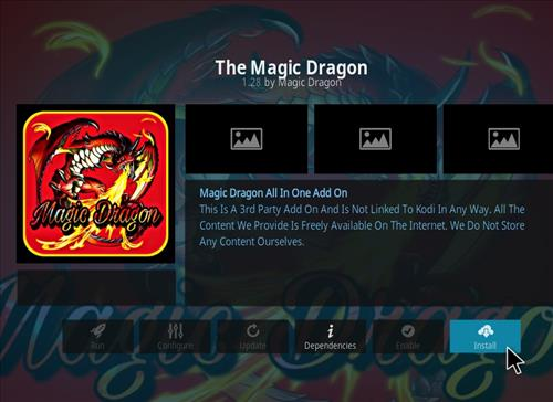 How to Install The Magic Dragon Add-on for Kodi 18 Leia step 18