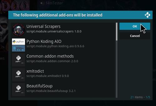 How to Install Voodoo Kodi 18 Leia Add-on step 19