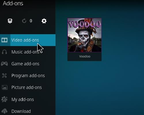 How to Install Voodoo Kodi 18 Leia Add-on step 21