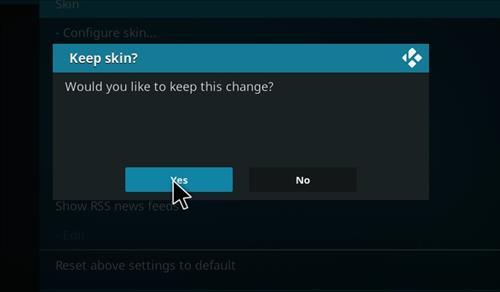 How to change the Skin back to Default Estuary smokin 18 step 5