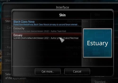 How to change the Skin back to Default Estuary supremacy black step 4