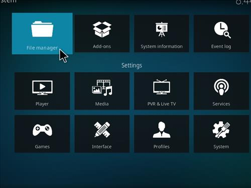 How to Install 4Qed Filters Kodi 18 Leia Add-on step 2