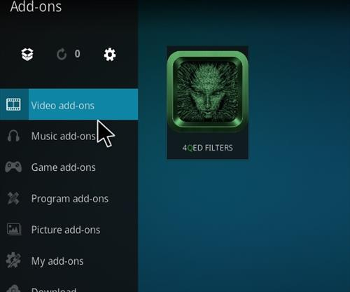 How to Install 4Qed Filters Kodi 18 Leia Add-on step 21