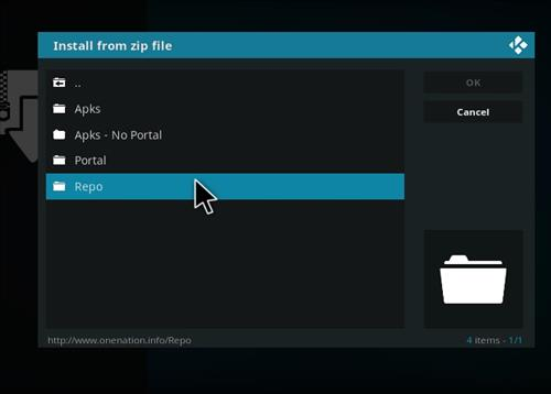 How to Install Deciet Kodi 18 Leia Add-on step 12